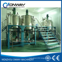 Pl Stainless Steel Jacket Emulsification Mixing Tank Oil Blending Machine Chemical Mixing Machine